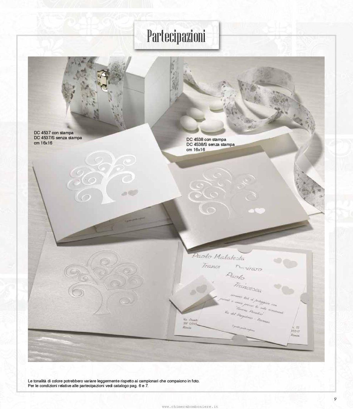 Partecipazioni Matrimonio 2018.Partecipazioni Matrimonio Debora Carlucci 2018 009